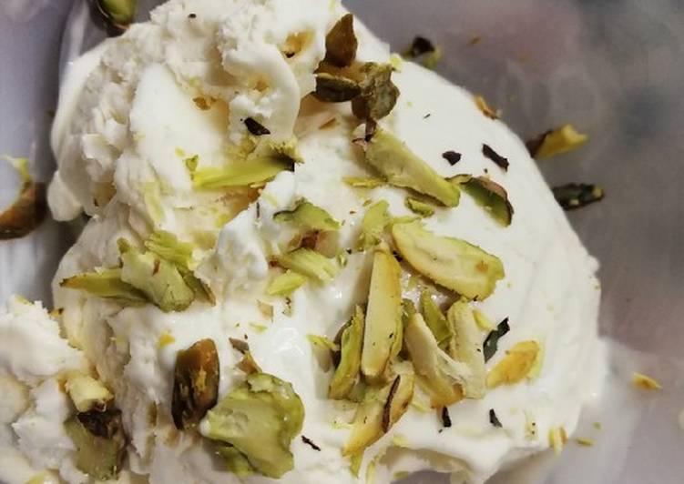 Vanilla ice-cream a quick recipe #eid k pakwan