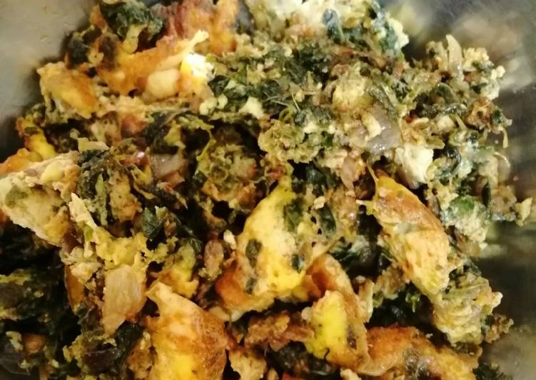 Recipe of Favorite Thotakura egg burji