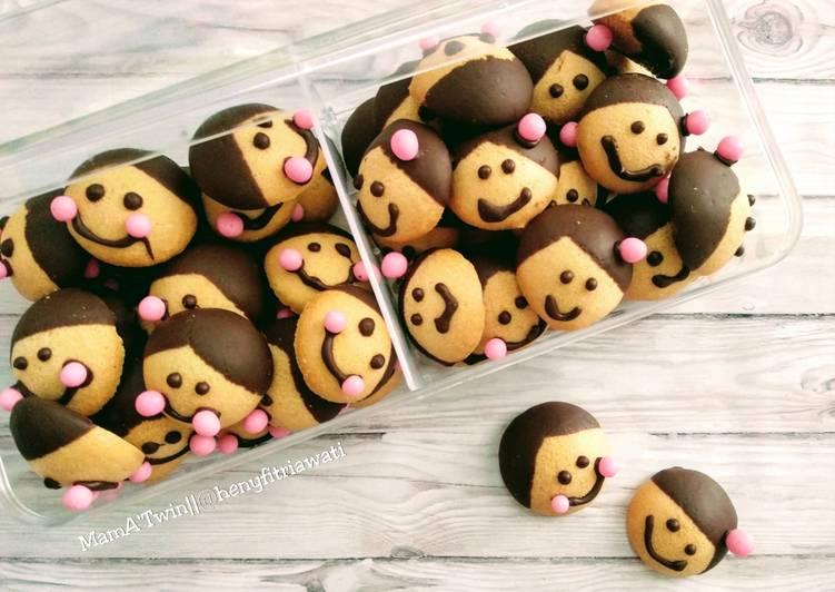 Resep Family Chocolate Character Oleh Heny Fitriawati Cookpad