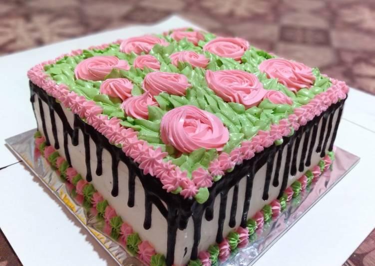 Resep: Enak Basic Cake Ultah