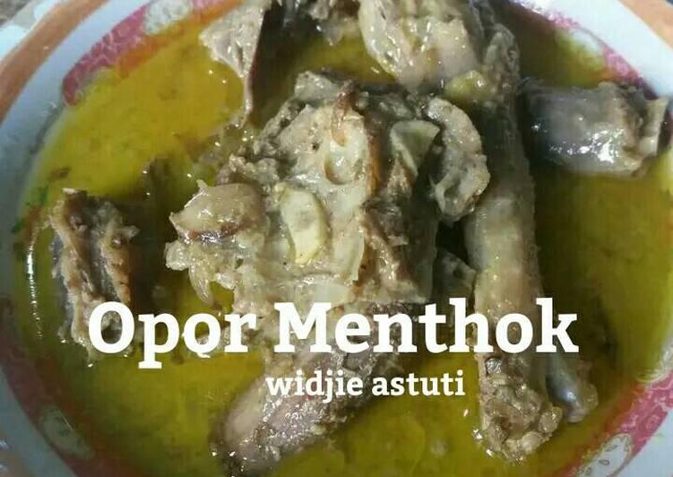 Opor Menthok