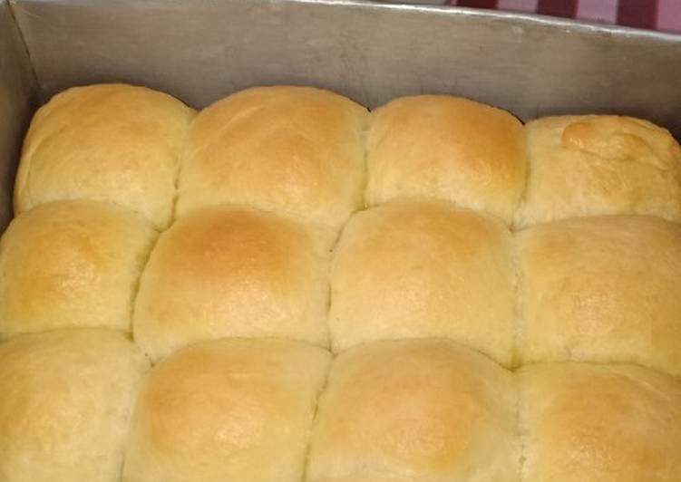 Roti kasur lembut (roti sobek isi abon sapi)👍🤗