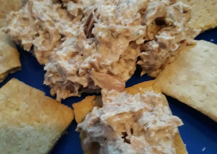 Snack Cracker and Dip