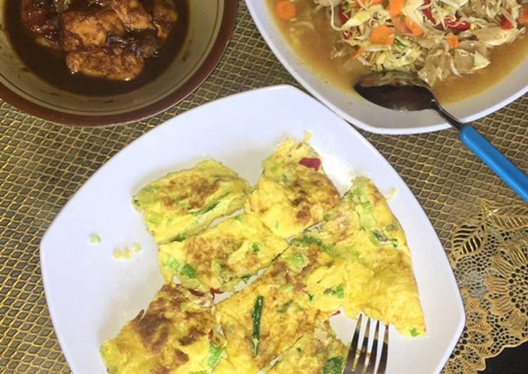 Bagaimana Membuat Masak ayam kecap,telur dadar, tumis toge baso 😍 Buat misuaa😊 Anti Gagal