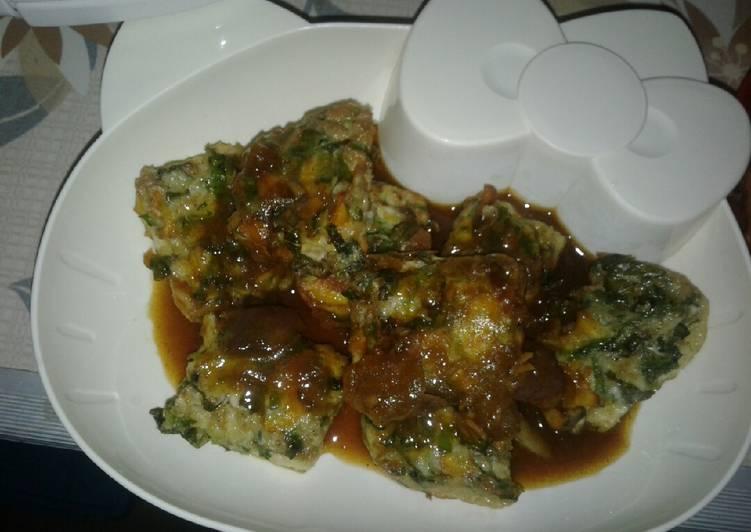 Resep Steak telur sayur, Lezat