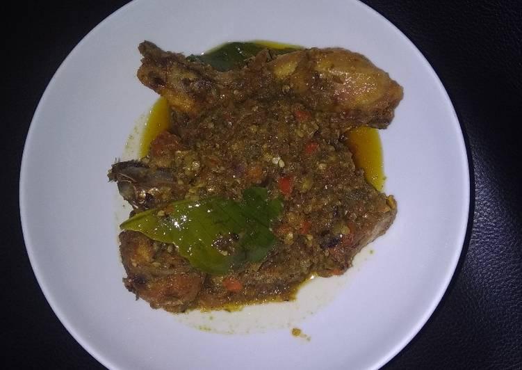 43• Ayam sambal korek