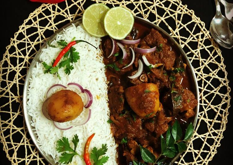 Recipe of Speedy Podi Mutton Curry