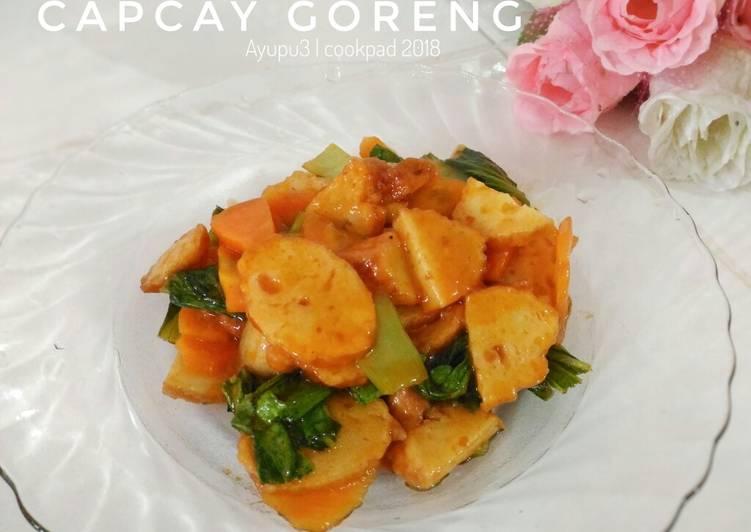 Capcay goreng