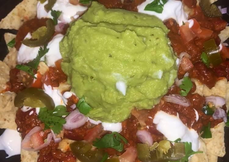 Receta Nachos Mexicanos que es delicioso
