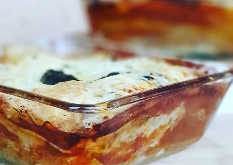 Lasagnes vegetariennes crémeuses