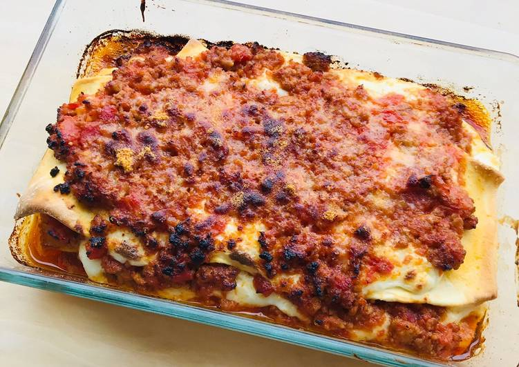 Easiest Way to Make Perfect Classic lasagna!