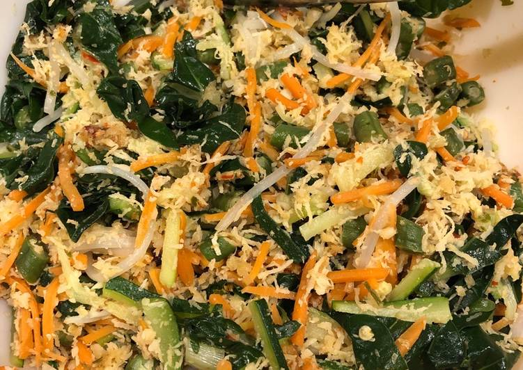 Step-by-Step Guide to Make Award-winning Urap Bali #eattherainbow