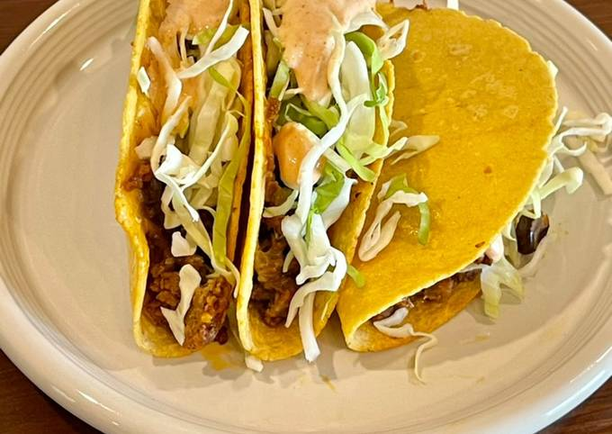 Oven Baked Taco's