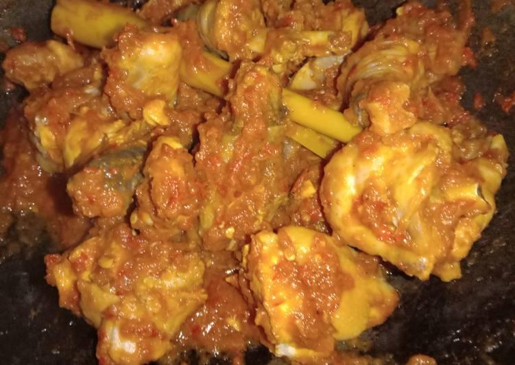 Cara Gampang Menyiapkan Ayam rica rica resep legendaris, Enak