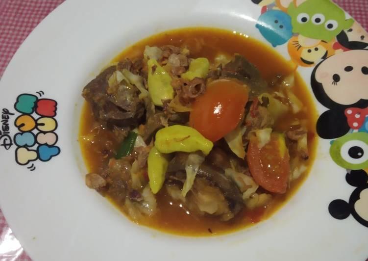 Tong-kam-sim (tongseng kambing simple) 😋 - cookandrecipe.com