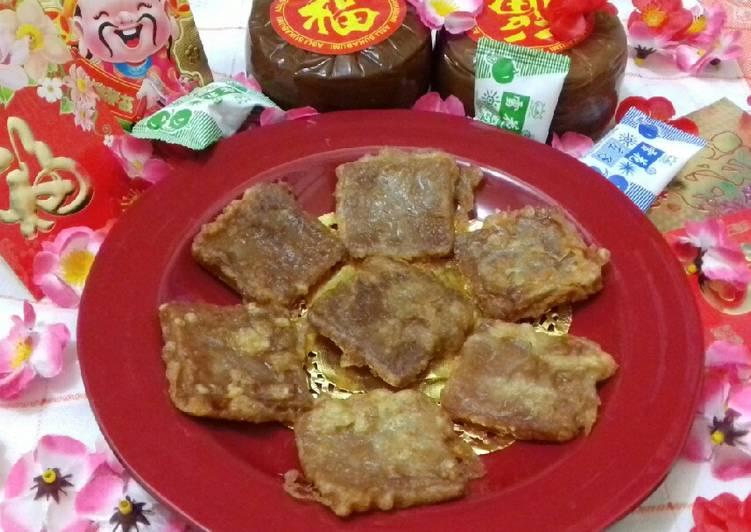 (7.9) Kue Keranjang Goreng - cookandrecipe.com