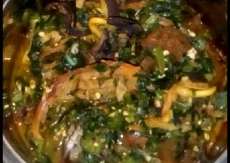 Snail with okra soup, Heart Friendly Foods You Must Eat