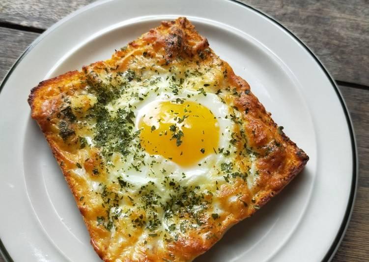 Resep Roti panggang keju telur Paling Enak