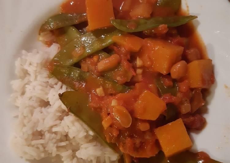 Süßkartoffel Stew (vegan)