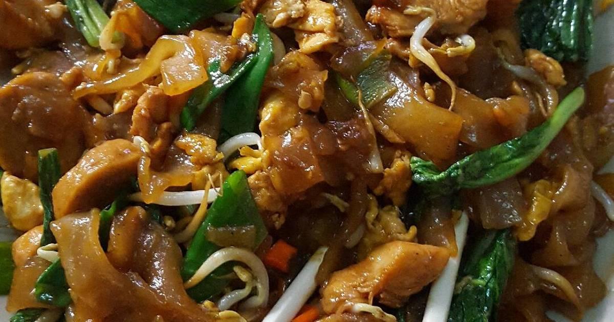 Resep Kwetiau Goreng Ayam Ala Solaria Oleh Dina Pramudiana Cookpad