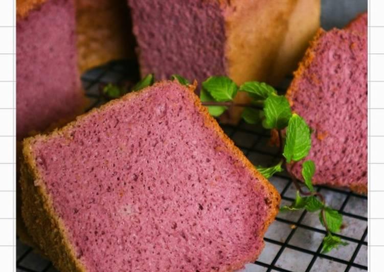 Taro Chiffon Cake