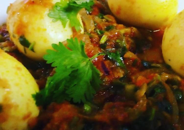 Recipe of Homemade Egg curry