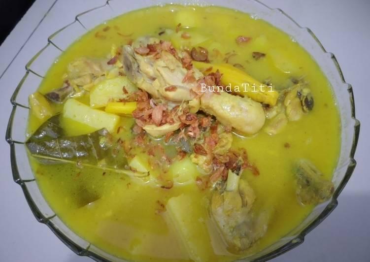 563.Kari Ayam Tanpa Santan - cookandrecipe.com