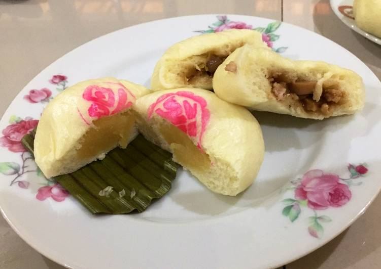 Resep Bakpao isi kacang hijau dan ayam Top