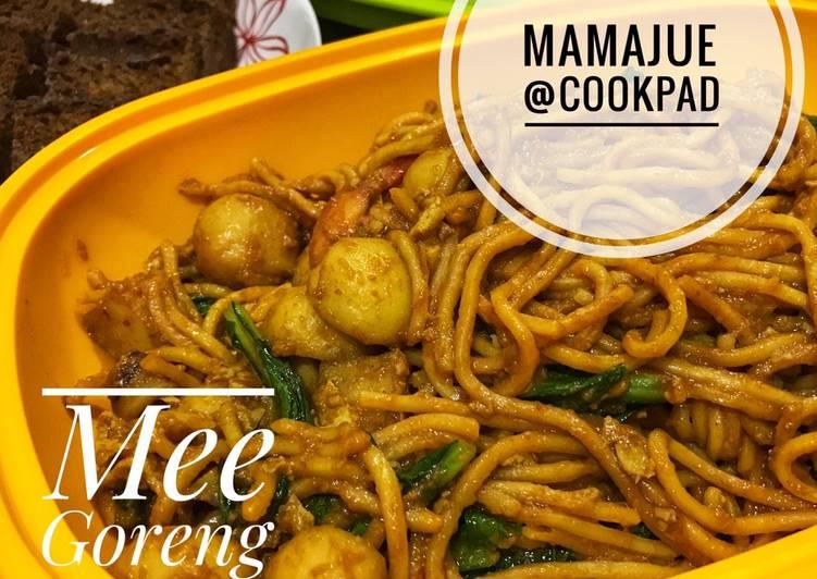 Resepi:  Mee Goreng Mamak My Style  Enak