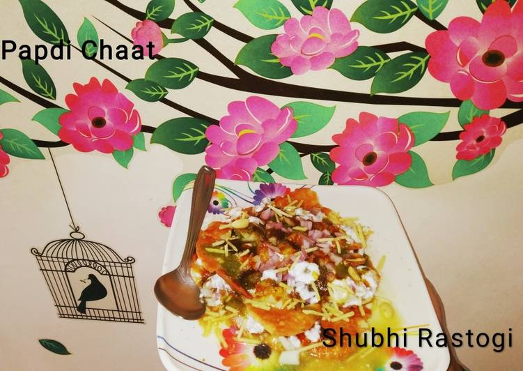 Steps to Make Favorite Papdi chaat
