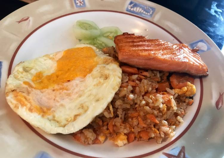 Salmon Butter Fried Rice