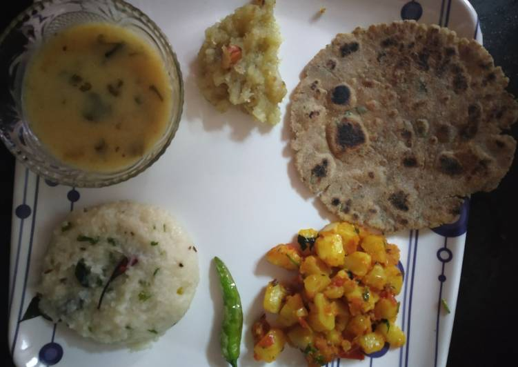 Foods That Can Make You Happy Farali thali for ramnavami