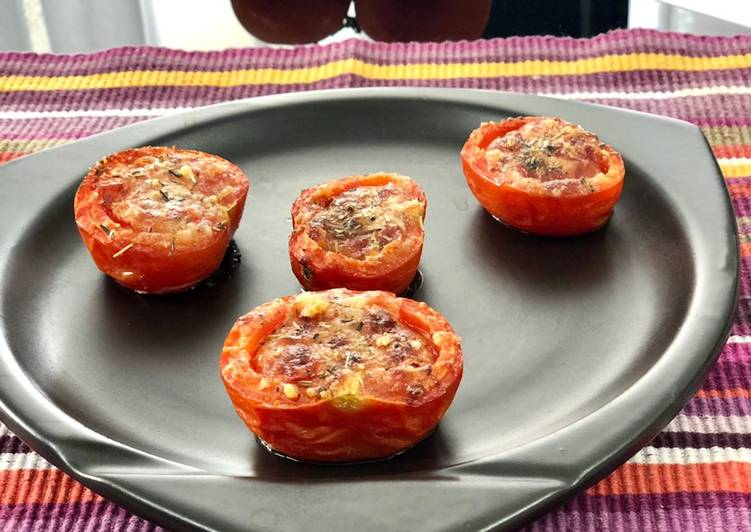 Simple Way to Prepare Speedy Tomates rôties aux parmesan