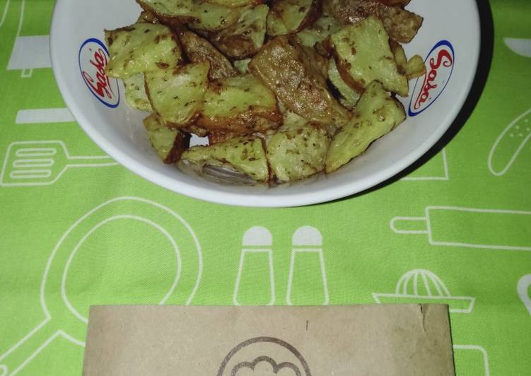 2Potato Wedges Oregano by Uliz Kirei