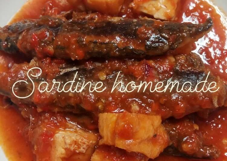 Ikan Sarden Pedas / Sardines Homemade Simple Enak