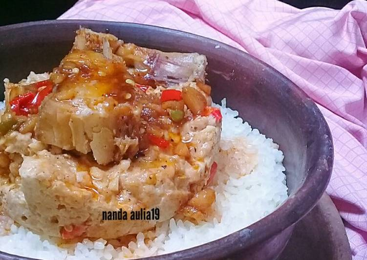 Resep Nasi liwet dg ayam cincang kukus ikan asin Yang Simple Bikin Nagih