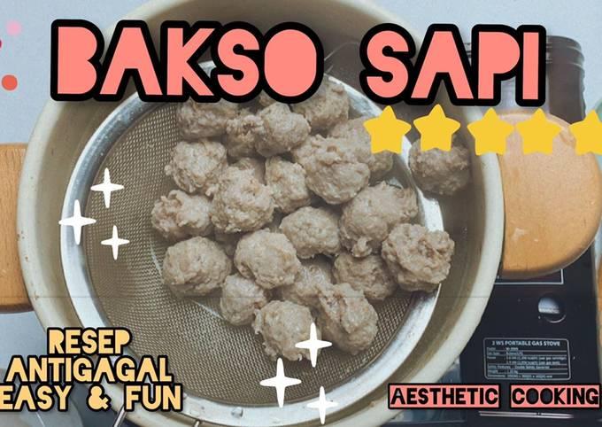 BAKSO SAPI PREMIUM (homemade)