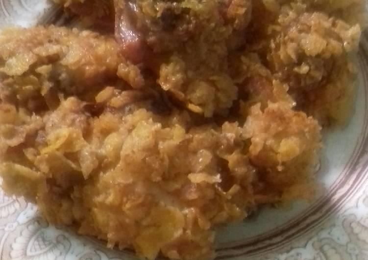 Ayam goreng marning gepeng