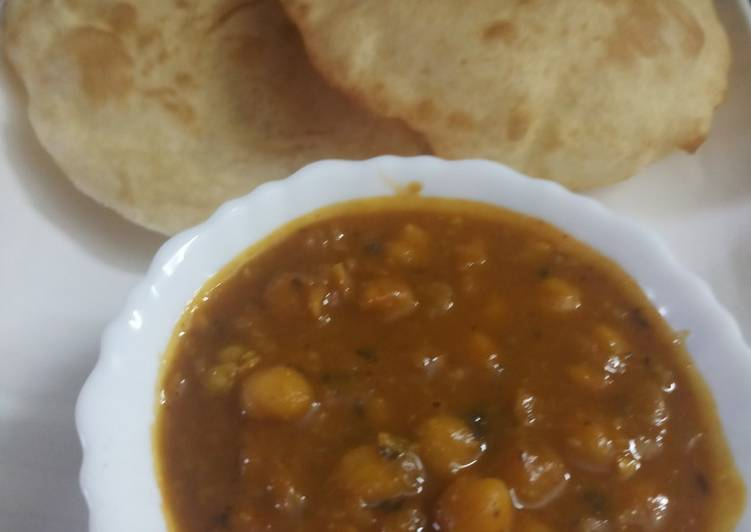 Recipe of Ultimate Cholle bhature