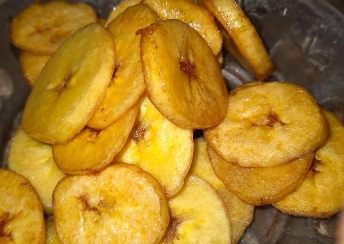 Keripik pisang.... Manis mudah dibuat