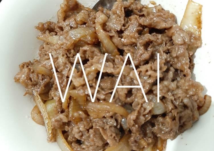 Beef Teriyaki ala Yoshinoya Mudah Sederhana dan Cepat