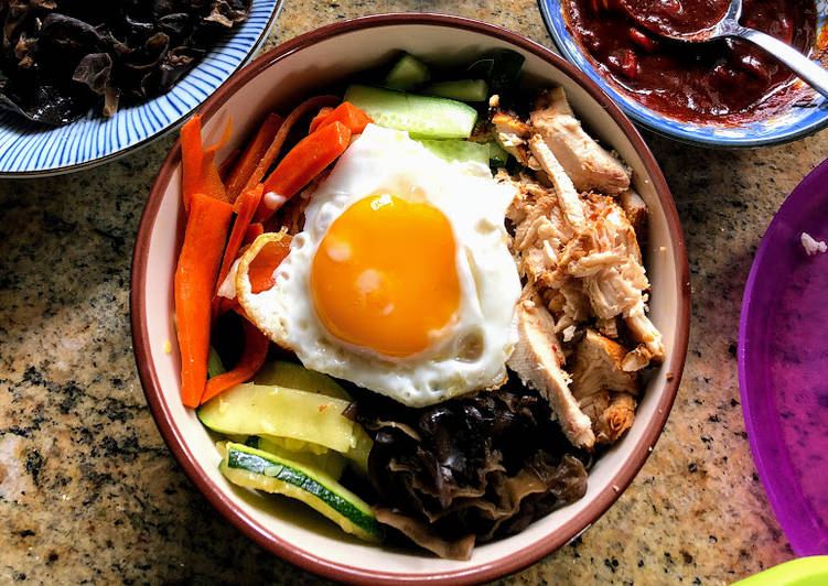 Recipe: Yummy Bibimbap #WYH