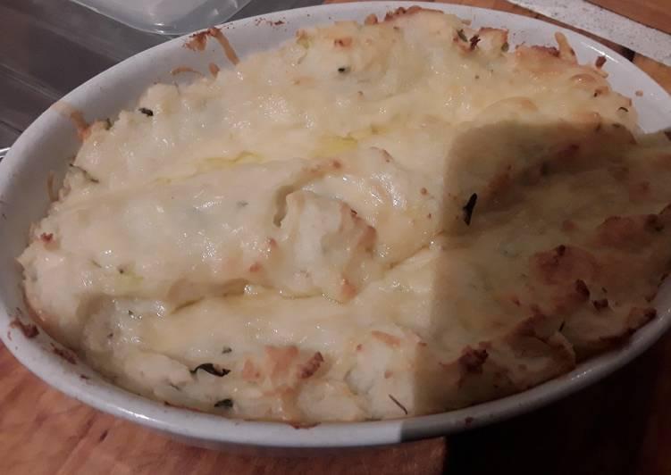 Sig's Onion, Cheese and Potato Mash