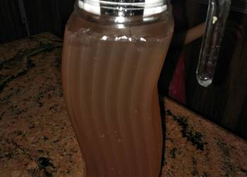 Easiest Way to Make Yummy Mint and lemon juice