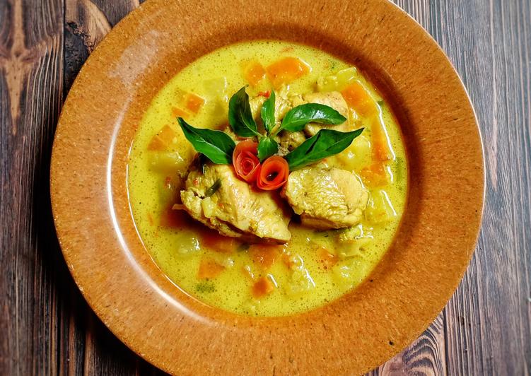 Kare Ayam Mix Sayur - cookandrecipe.com