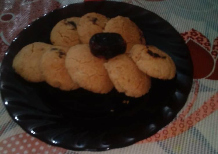 Dates cookies(whole wheat flour)