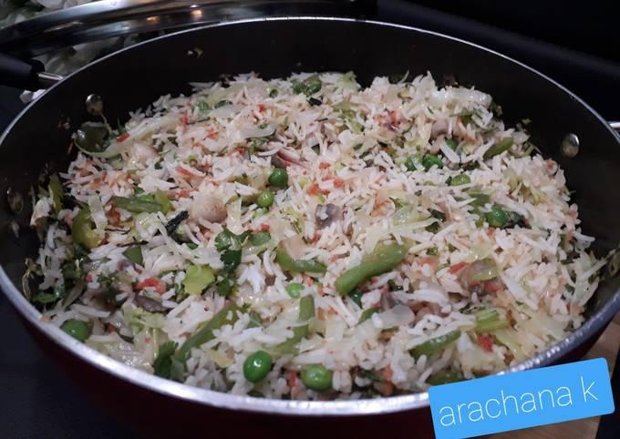 Mix veg fried rice