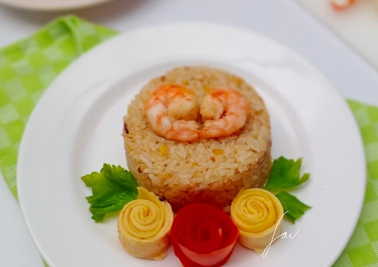 Nasi Goreng Kari Udang