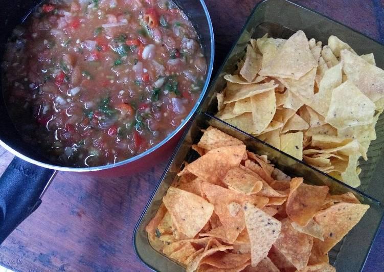 Resep Saus Salsa for Tortilla Chips oleh Istiana Mustika Ratu