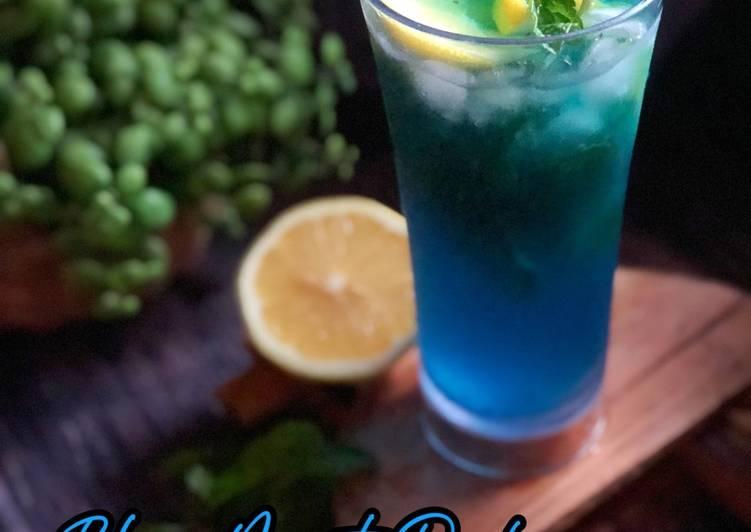 Blue Mint Pudina - resepipouler.com